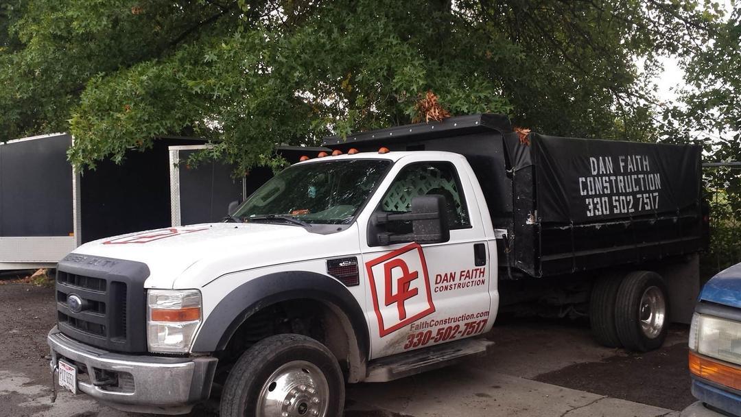 Dan Faith Construction Dump Truck