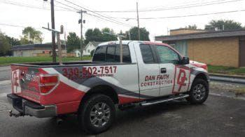 Dan Faith Construction Work Truck