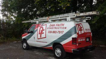 Dan Faith Construction Van